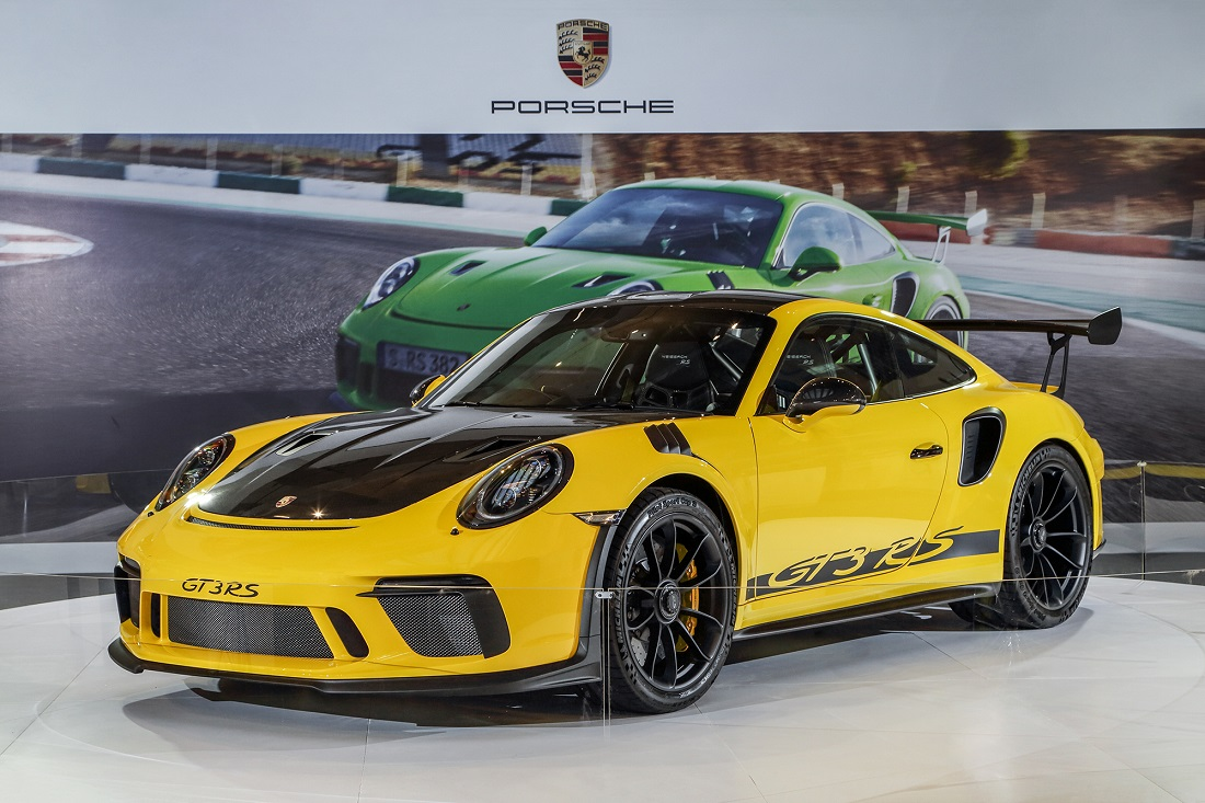 See The New Porsche 911 GT3 RS At Pavilion Kuala Lumpur ...