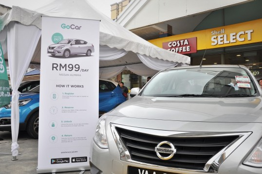 GoCar Car Sharing Service Now Available At 100 Shell Stations In Malaysia