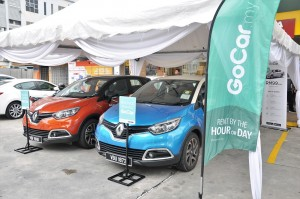 GoCar_Shell Select_Taman Connaught Kuala Lumpur_Renault Captur_Car Sharing_Malaysia