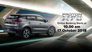 PROTON X70 SUV_Online Booking - Malaysia