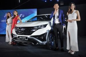 Toyota Rush Launch, UMW Toyota Motor, Malaysia, SUV