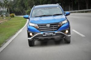 Toyota Rush SUV, Malaysia Launch, Test