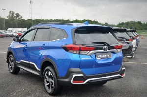 Toyota Rush, Rear View, Malaysia Launch, Test Drive