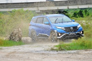 Toyota Rush, Malaysia Launch, Off-road