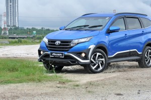 Toyota Rush, Malaysia Launch, Test Drive, Off-road
