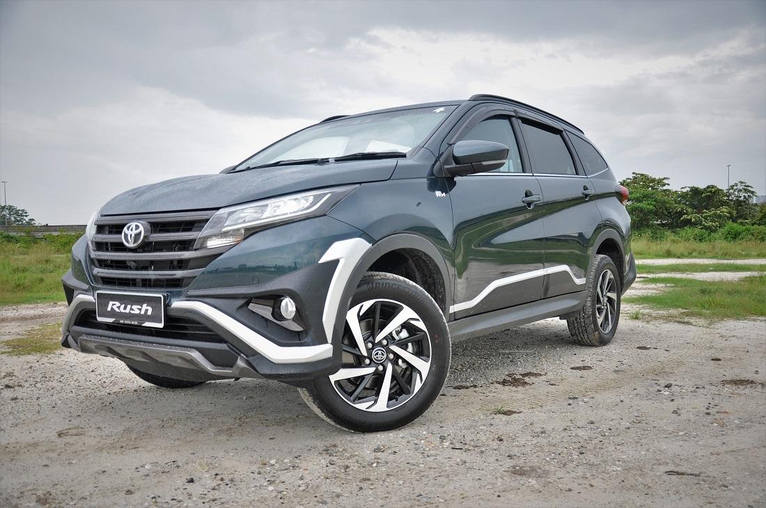 Toyota Rush 1 5s Malaysia Launch Outdoors Autoworld Com My