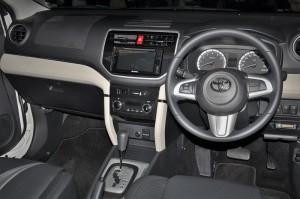 Toyota Rush, Dashboard, Malaysia