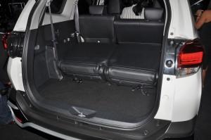 Toyota Rush, Third Row Seats Folded, Malaysia