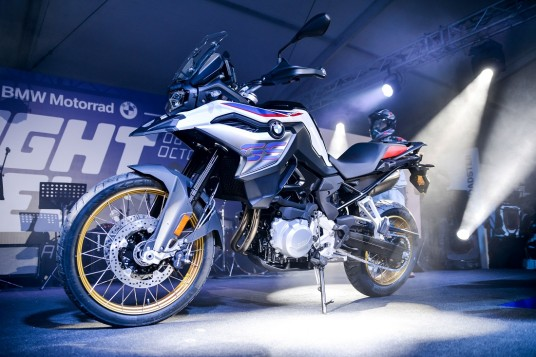 New BMW F 850 GS Previewed By BMW Motorrad Malaysia At Nightfuel