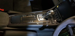 Centre console and gear lever