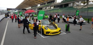 The GT3 RS Rollout for the new owners on SIC Race Track
