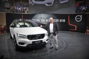 Volvo XC40 T5 R-Design Launch, Lennart Stegland, Malaysia 2018