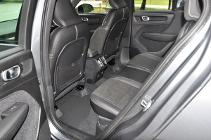 Volvo XC40 T5 R-Design, Rear Seats, Malaysia 2018