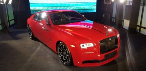 Wraith Black Badge in Ensign Red