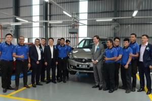 Ming Heng Motor management and service staff - Proton 4S Centre, Setapak, Kuala Lumpur