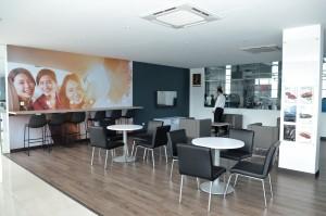 Ming Heng Motor Customer lounge - Proton 4S Centre, Kuala Lumpur