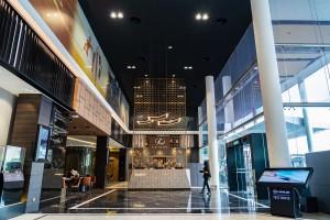 Lexus Mutiara Damansara Main Entrance - Malaysia