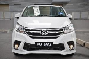 Maxus G10 SE_Front_MPV_Malaysia Test Drive