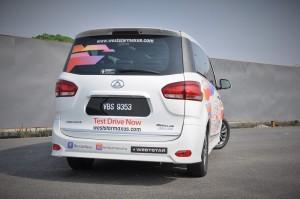 Maxus G10 SE_Rear_MPV_Malaysia 2018