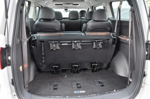Maxus G10 SE_4th Row Seats_Folded_Rear Cargo Space_MPV_Malaysia