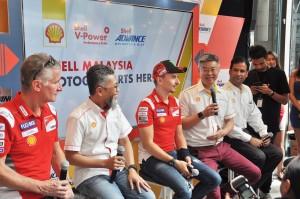 Shell Malaysia_Iain Lo_Shairan Huzani Husain_Jorge Lorenzo_Pablo Ciabatti_Ducati_MotoGP_2018
