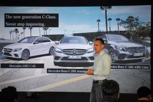 Mercedes-Benz C-Class Launch, Malaysia, Mark Raine, 2018