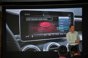 Mercedes-Benz C-Class, 10.25 Inch Interactive Media Display, Malaysia 2018