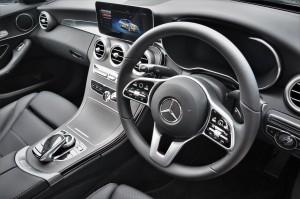 Mercedes-Benz C200 Avantgarde, Steering Wheel, Malaysia 2018