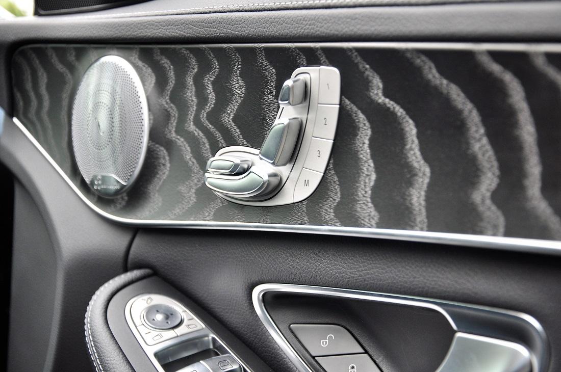 Mercedes-Benz C300 AMG, Door Card, Burmester Sound System, Malaysia