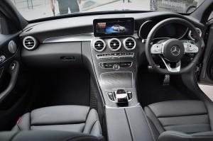 Mercedes-Benz C300 AMG, Dashboard, Malaysia 2018