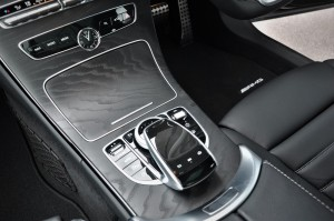 Mercedes-Benz C300 AMG, Centre Console, Comand Knob, Touchpad, Malaysia