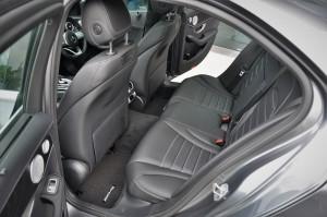 Mercedes-Benz C-Class Facelift, C300 AMG, Rear Seats, Malaysia 2018