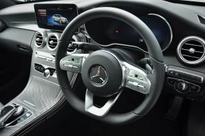Mercedes-Benz C300 AMG, Steering Wheel, W205, Malaysia
