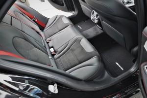Mercedes-AMG C43, W205, Rear Seats, Malaysia 2018