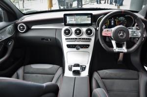 Mercedes-AMG C43, Dashboard, W205, Facelift, Malaysia
