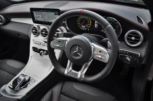 Mercedes-AMG C43 Steering Wheel, W205, Malaysia 2018