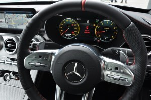 Mercedes-AMG C43, W205, Facelift, Digital Display, Paddle Shifters, Steering Wheel, Malaysia