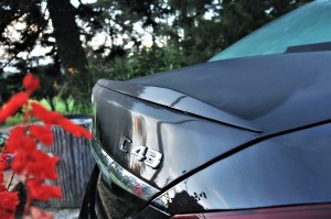 Mercedes-AMG C43, W205, Boot Lid Spoiler, Malaysia
