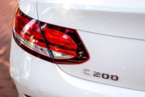 Mercedes-Benz C200 Coupe AMG Line, LED Tail Lamp, Malaysia