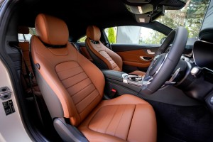 Mercedes-Benz C200 AMG Line, Front Seats, Malaysia Launch