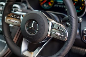 Mercedes-Benz C200 Coupe AMG Line, C205 Facelift, Steering Wheel, Malaysia