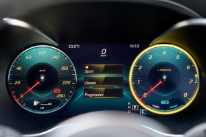 Mercedes-Benz C200 Coupe AMG Line, C205 Facelift, Digital Instrument Display, Sport, Malaysia