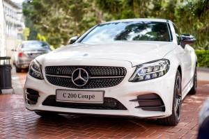 Mercedes-Benz C200 Coupe AMG Line, Front View, Malaysia Launch 2018