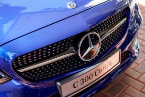 Mercedes-Benz C300 Coupe AMG Line, C205 Facelift, Front Grille, Malaysia
