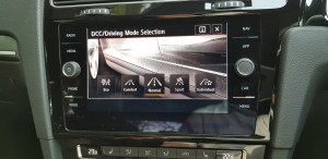 VW Golf GTi 7.5, Centre Screen, DCC Driving Mode Select, Malaysia 2018