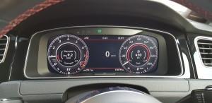 Volkswagen Golf GTi, Digital Instrument Display, Malaysia 2018