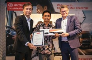 UD Trucks Extra Mile Challenge, UDEMC 2018, Quester Winner, Eko Yulianto, Indonesia