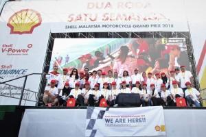 Shell Malaysia Motorcycle Grand Prix, MotoGP 2018, Shell Selamat Sampai, Shairan Huzani Husain