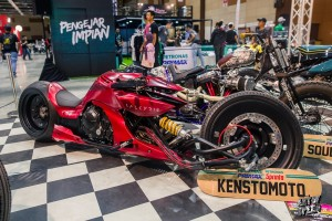 Custom Motorcycle Display from Art of Speed - KLIMS '18, Motor Show, Malaysia