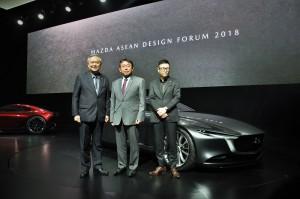 Mazda ASEAN Design Forum 2018_Thailand_Chanchai Trakarnudomsuk_Hiroshi Inoue_Yasushi Nakamuta